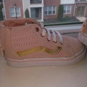 41e57d7430d Vans Shoes - Vans My Maddie Zip Toddler Girls  High Top Sneaker